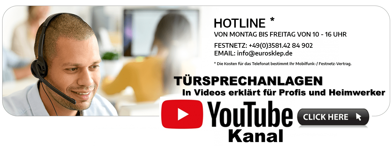 Türsprechanlage Hotline Eurosklep