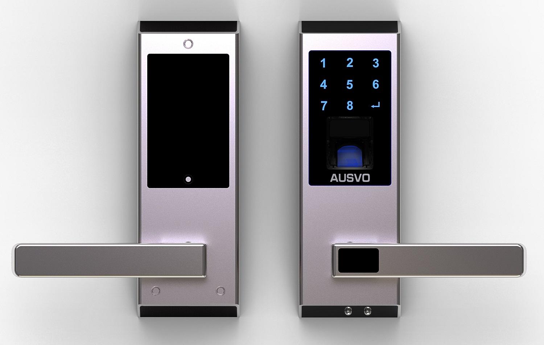 fingerprint t rschloss m400 eurosklep. Black Bedroom Furniture Sets. Home Design Ideas