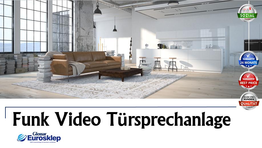 Funk Video Türsprechanlage